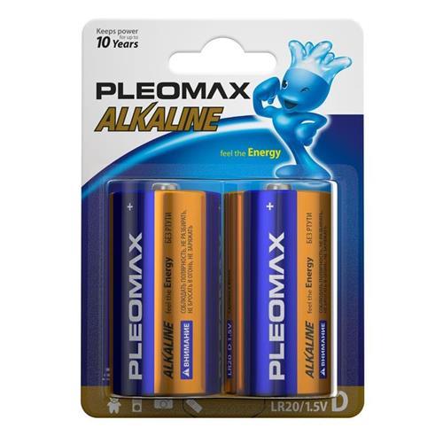 Батарейка Samsung Pleomax LR20-2BL