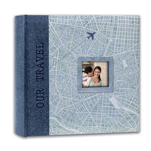 FK46200B альбом MAP BLUE 11X16/200